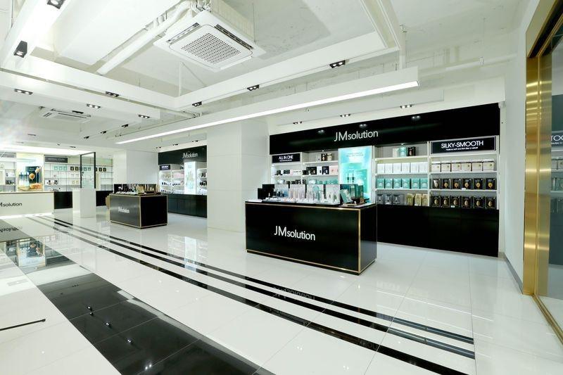 Mỹ phẩm thương hiệu JM Solution của GP Club tại Myeongdong, Seoul - Ảnh: JM Solution.
