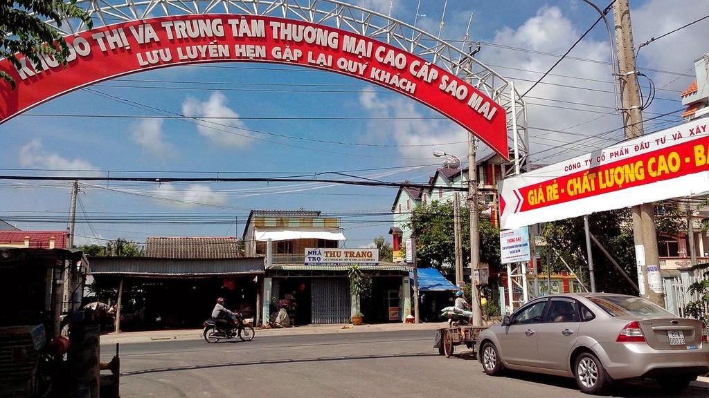Công ty CP Tập đoàn Sao Mai là chủ đầu tư của nhiều dự án khu đô thị tại An Giang