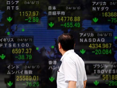 Chứng khoán châu Á đồng loạt tăng điểm ngày 29/3. Ảnh minh họa: Reuters