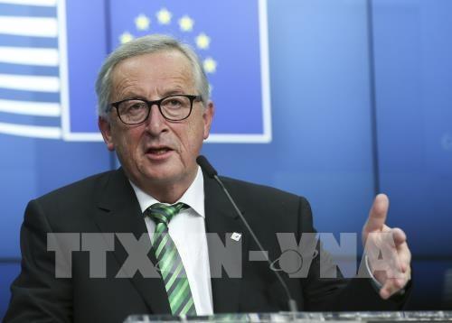 Chủ tịch Ủy ban châu Âu (EC) Jean-Claude Juncker. Ảnh: THX/ TTXVN
