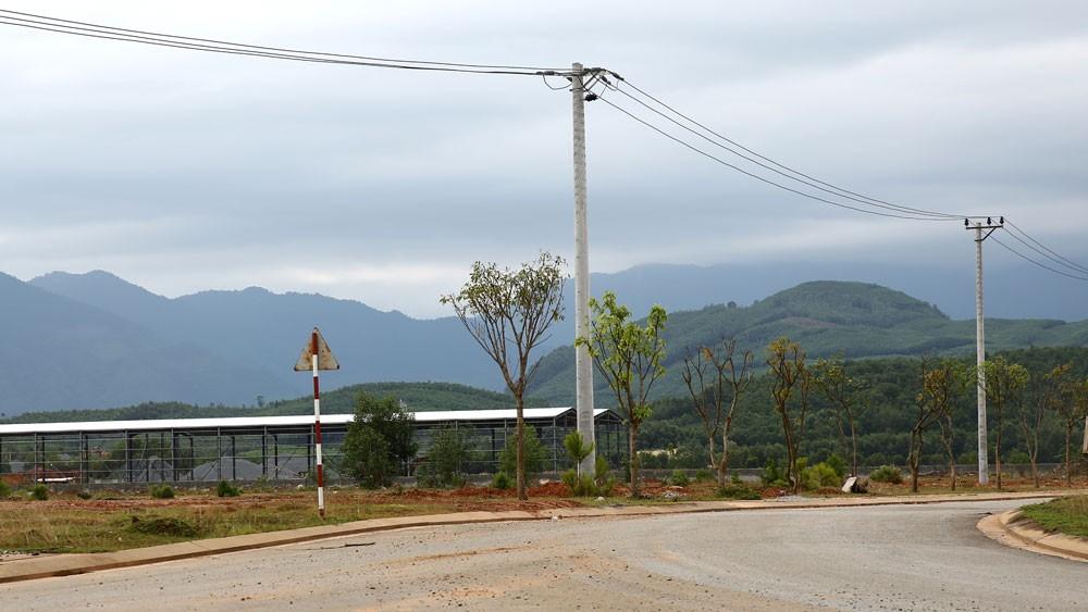 Năm 2008, Công ty Bác Nguyên Lạng Sơn đã được giao làm chủ đầu tư Dự án Cụm công nghiệp Hợp Thành, huyện Cao Lộc, tỉnh Lạng Sơn. Ảnh: Nhã Chi