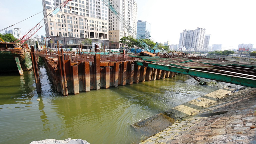 Trong lĩnh vực chống ngập, TP.HCM sẽ ưu tiên các dự án PPP, đặc biệt là các dạng hợp đồng BTL, BLT và BT. Ảnh: Lê Tiên