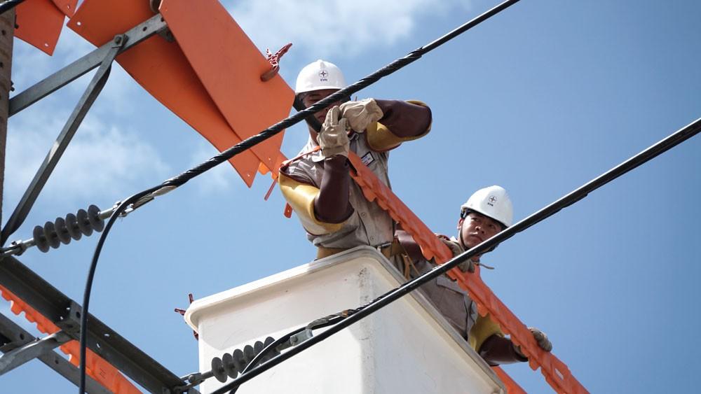 EVNSPC triển khai nhiều giải pháp nhằm đảm bảo cấp điện ổn định trong mùa khô và cả năm 2019