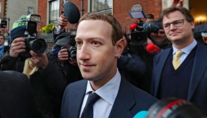 Nhà sáng lập kiêm CEO Facebook, ông Mark Zuckerberg - Ảnh: Getty/CNBC.