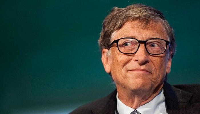 Tỷ phú Bill Gates, nhà sáng lập Microsoft.