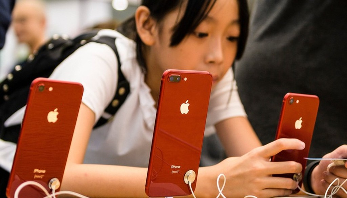 iPhone được lắp ráp chủ yếu tại Trung Quốc - Ảnh: Shutterstock.