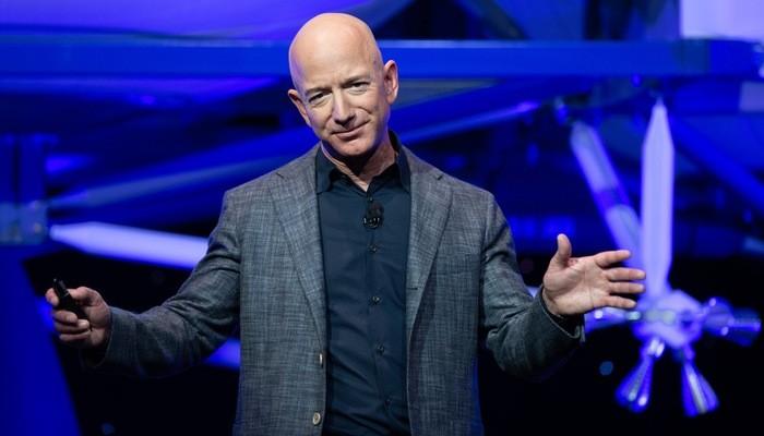 Jeff Bezos, người sáng lập, CEO của Amazon - Ảnh: AFP.