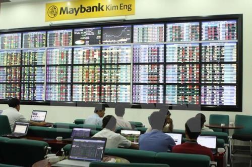 Chứng khoán ngày 22/5: Thị trường giảm, khối ngoại vẫn mua ròng. Ảnh:TTXVN