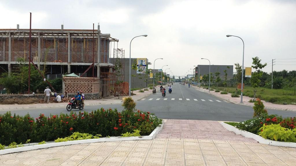 Công ty CP Đầu tư và Xây dựng Tiền Giang từng thi công nhiều gói thầu cũng như triển khai nhiều dự án khu dân cư trên địa bàn tỉnh Tiền Giang. Ảnh: Thái Sơn (Công Luận)