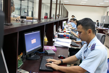 Có 3.173 lượt phương tiện xuất nhập cảnh qua hải quan Lạng Sơn năm 2018. Ảnh: Internet