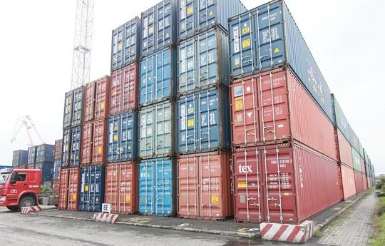 Hải quan Hải Phòng đang xử lý 32 container tồn đọng theo quy định. Ảnh minh họa: Internet