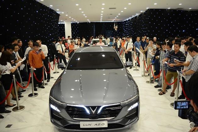 """""""Bộ tứ"""" xe VinFast ra mắt thị trường phía Nam - ảnh 2"""