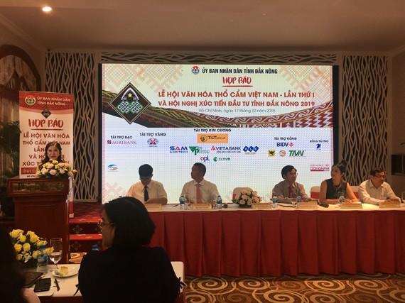 Lễ hội Văn hóa Thổ Cầm Việt Nam lần thứ I năm 2019 là cơ hội tốt để kêu gọi xúc tiến đầu tư vào tỉnh Đăk Nông.