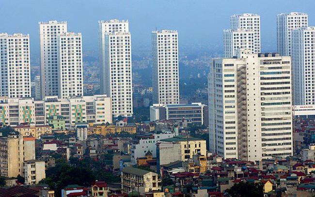 Phân khúc căn hộ giá thấp đang dẫn dắt nguồn cung của thị trường bất động sản Hà Nội. Ảnh: Internet