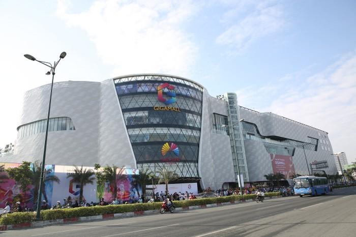 Gigamall là mô hình bán lẻ kết hợp trải nghiệm mua sắm và hoạt động giải trí