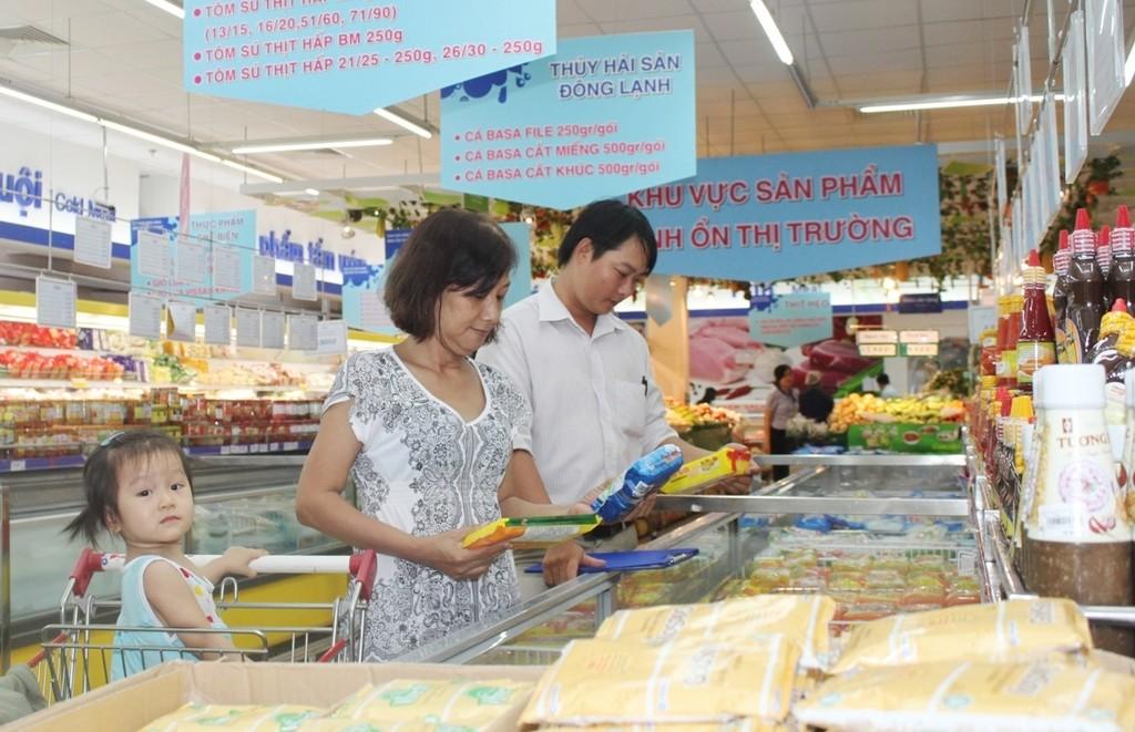 Hệ thống siêu thị của Saigon Co.op luôn đi đầu về bình ổn giá
