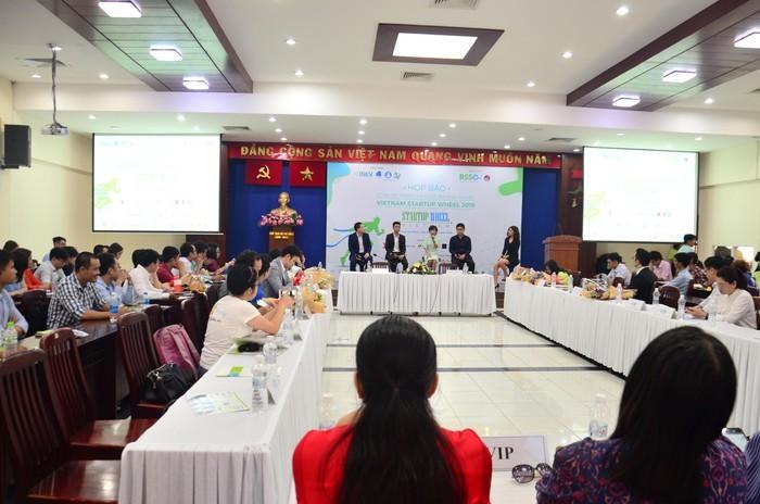 Cuộc thi khởi nghiệp Vietnam Startup Wheel 2019 do Trung tâm hỗ trợ Thanh niên khởi nghiệp TP.HCM phối hợp với Hội Doanh nhân trẻ TP.HCM tổ chức.
