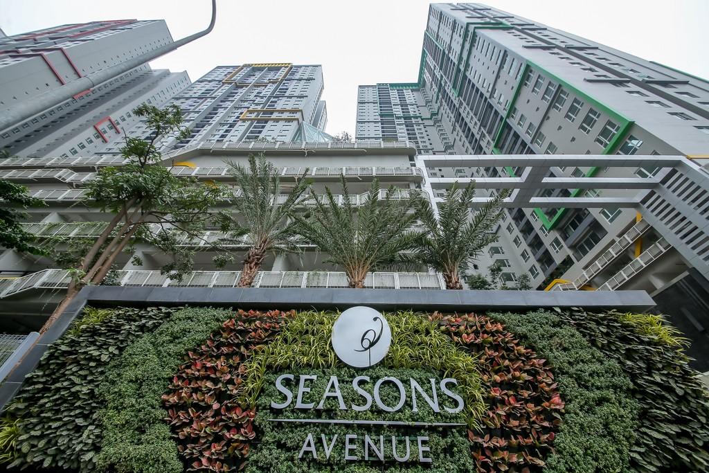 Seasons Avenue, một trong hai dự án vừa nhận được giải thưởng Vàng cho Giá trị Xanh của Bộ Xây dựng Singapore