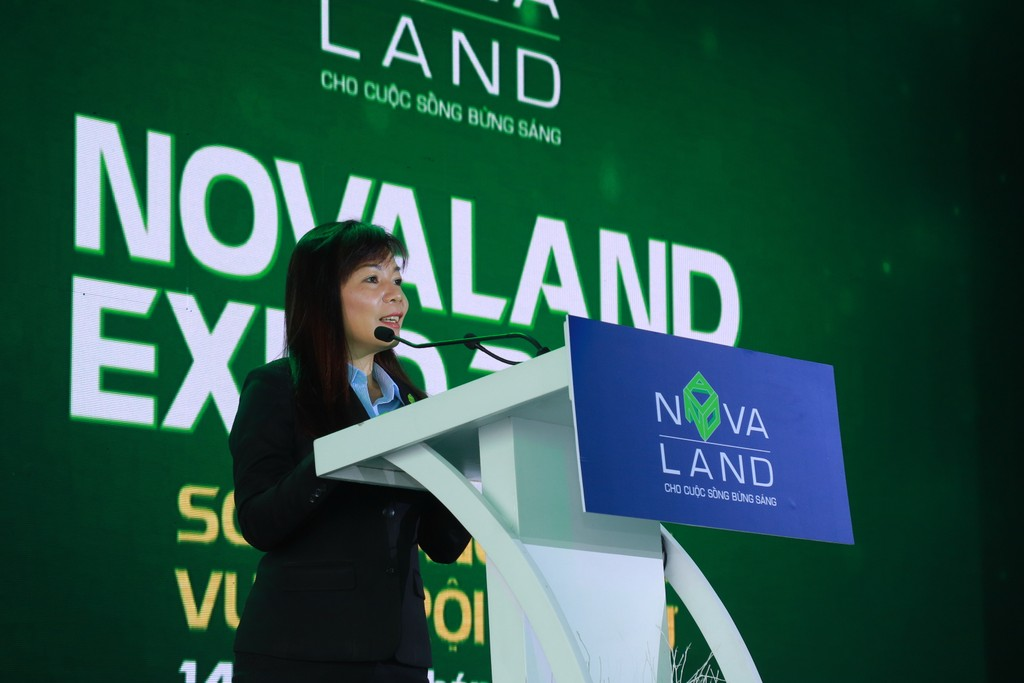 Sôi động khai mạc Triển lãm Bất động sản Novaland Expo 2019 - ảnh 1