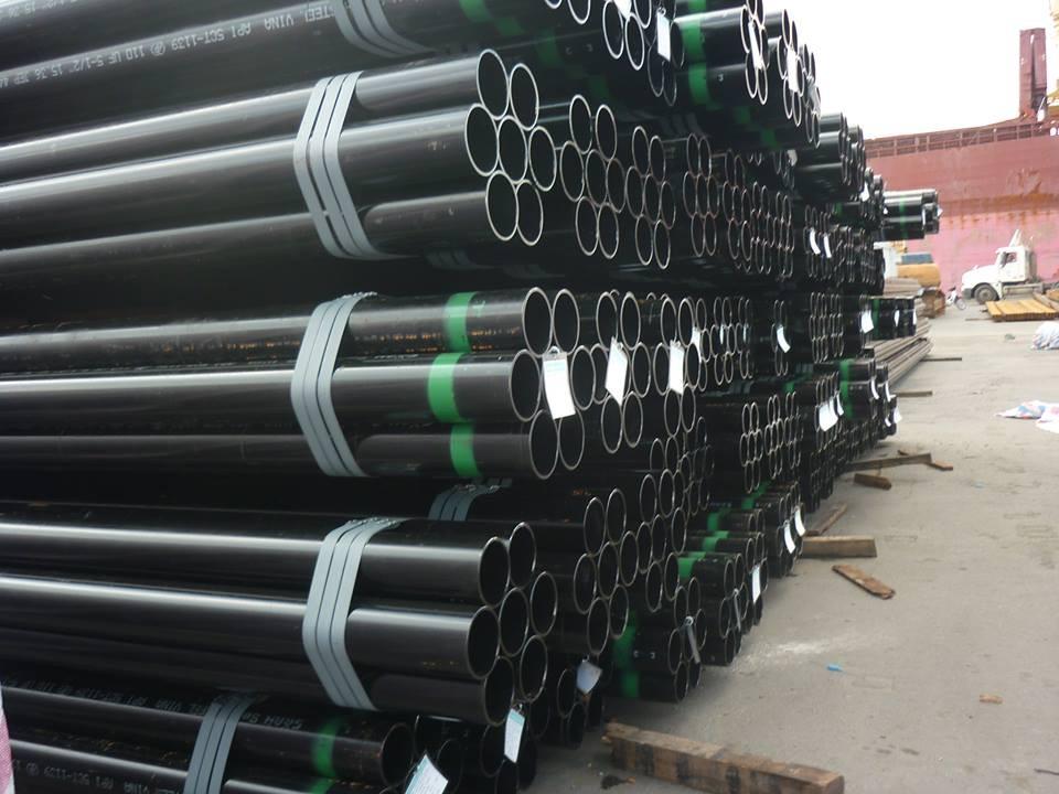 Sản phẩm ống thép hàn cacbon xuất khẩu của Việt Nam duy trì lợi thế cạnh tranh (Ảnh Internet)
