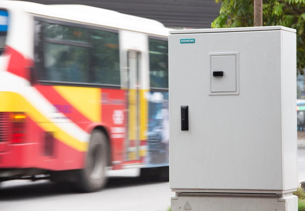Tủ điều kiển tín hiệu giao thông của Siemens