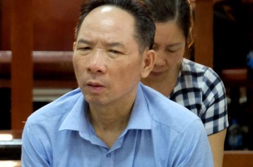 Bị cáo Phan Minh Nguyệt tại tòa sơ thẩm.