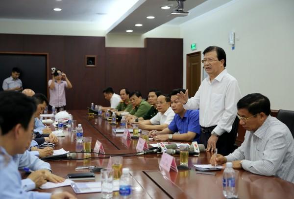 Duy trì chế độ kiểm soát môi trường đặc biệt tại Formosa Hà Tĩnh hình 2