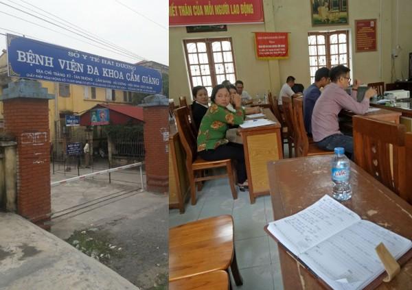Gói thầu xây lắp tại Bệnh viện huyện Cẩm Giàng (Hải Dương): Thu tiền mặt bảo đảm dự thầu hình 1