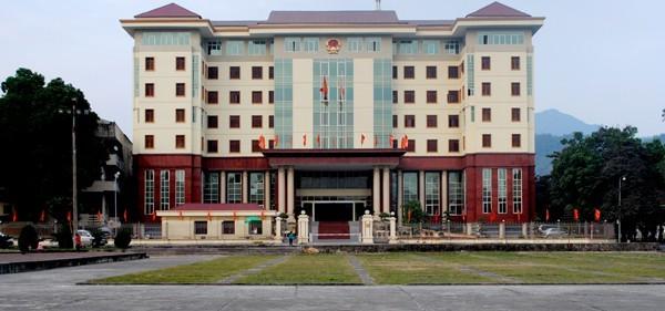 Trụ sở UBND tỉnh Hà Giang hiện nay - Ảnh: Cổng TTĐT Hà Giang