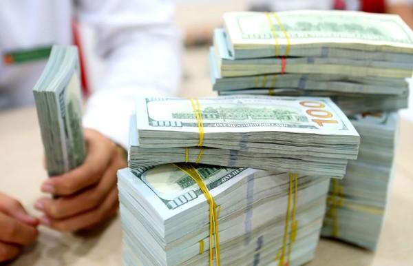 Từ đầu năm đến nay, tỷ giá USD/VND trung tâm tăng 226 đồng, tương ứng khoảng 1%. Ảnh: Minh Dũng