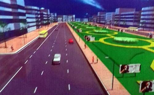 Phối cảnh tuyến đường 91C có vốn đầu tư 15.000 tỷ đồng đượcCần Thơ kêu gọi đầu tư theo hình thức BOT. Ảnh:Cửu Long.