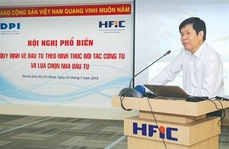 TP.HCM cam kết thực hiện dự án PPP một cách chuẩn mực