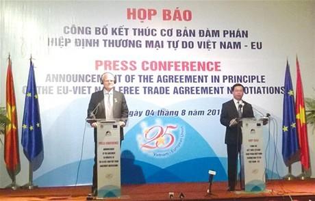 Việt Nam và EU đạt thoả thuận quan trọng về mua sắm công