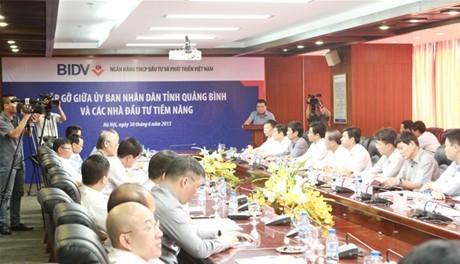 Quảng Bình kêu gọi đầu tư  vào các dự án có tính cạnh tranh cao