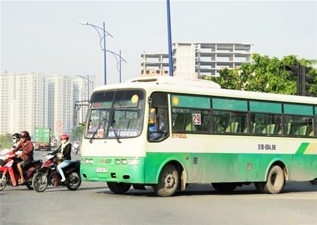 Vận tải hành khách công cộng  tại TP.HCM chưa đạt yêu cầu