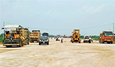 Hải Dương: Thúc tiến độ công trình  phụ trợ của cao tốc Hà Nội - Hải Phòng