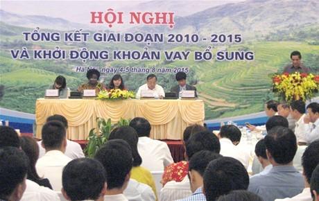 Dự án Giảm nghèo các tỉnh miền núi phía Bắc:  Hoàn thành hơn 800 công trình kết cấu hạ tầng