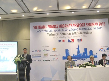 Nhiều nhà đầu tư Pháp quan tâm  các dự án PPP giao thông đô thị ở TP.HCM