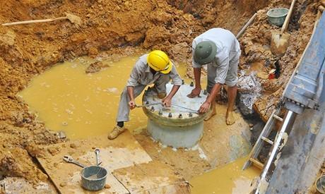 Đang phát hành hồ sơ mời thầu dự án  xây dựng đường ống nước sạch sông Đà 2
