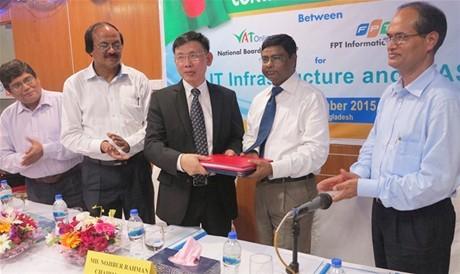 FPT thắng thầu dự án công nghệ thông tin  33,6 triệu USD tại Bangladesh