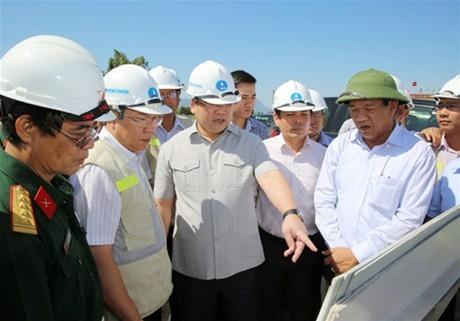 Đảm bảo chất lượng, tiến độ dự án cao tốc Đà Nẵng - Quảng Ngãi