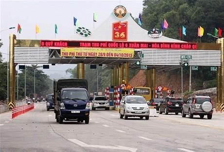 Hòa Bình đề xuất miễn giảm thu phí tại Trạm thu phí Quốc lộ 6