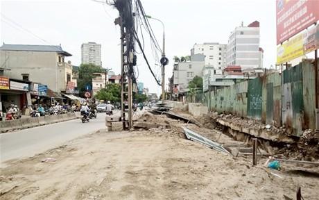 Hà Nội: Thúc tiến độ 2 công trình  giao thông trọng điểm