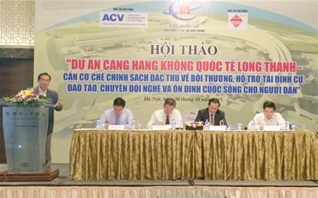 """Dự án xây dựng sân bay Long Thành: """"Nóng"""" chuyện vốn giải phóng mặt bằng"""