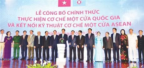 Khởi động Cơ chế một cửa quốc gia và kết nối kỹ thuật Cơ chế một cửa ASEAN