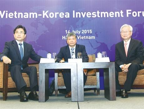 Tăng cường hợp tác đầu tư Việt Nam - Hàn Quốc