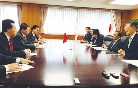 Tăng cường hợp tác Việt - Nhật  về thương mại và công nghiệp