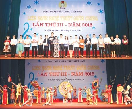 Bộ KH&ĐT giành giải Nhất Liên hoan  Nghệ thuật quần chúng lần thứ III - năm 2015