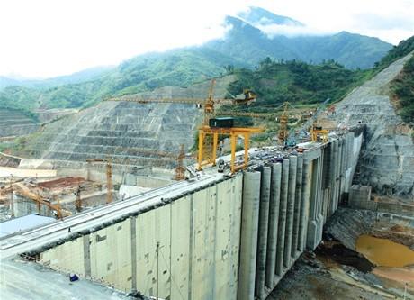 Đảm bảo tiến độ phát điện  của Nhà máy Thủy điện Lai Châu
