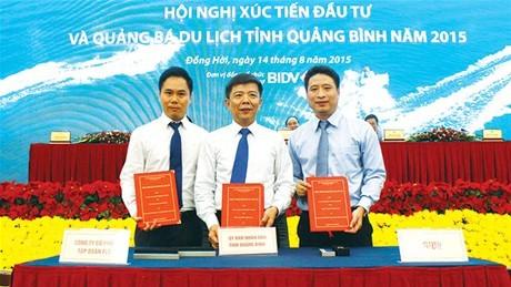 FLC cam kết đầu tư  2 dự án lớn tại Quảng Bình